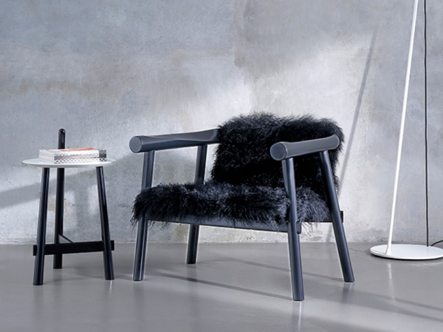 ALTAY lounge en bijzet tafeltje: design Patricia Urquiola, 2014, COEDITION