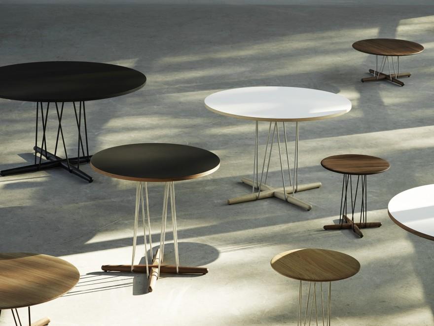 La collection de table Embrace, EOOS, Carl Hansen & Son