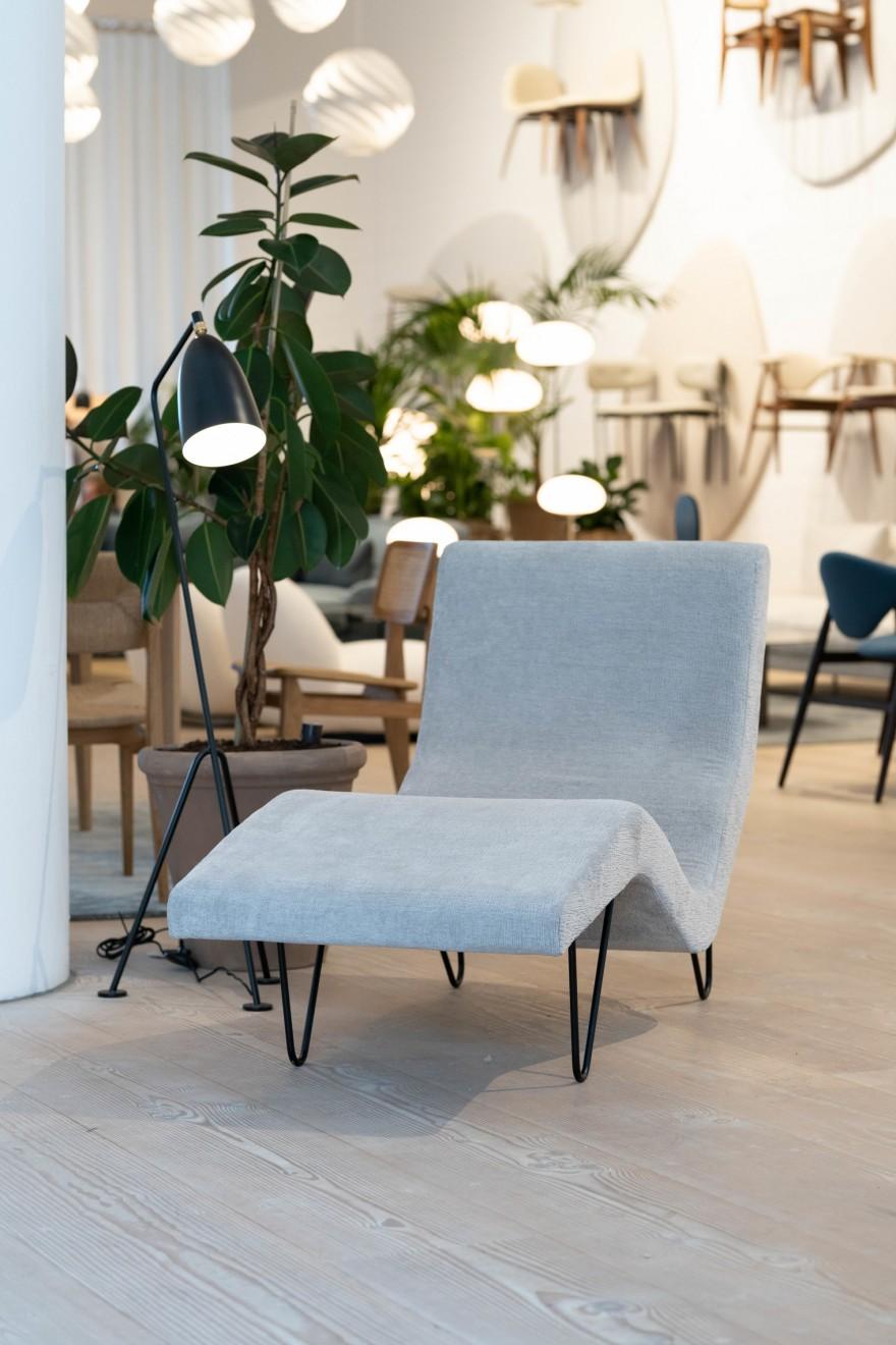 Nieuws stoffen strategie GUBI (GMG Lounge Greta Grossman)