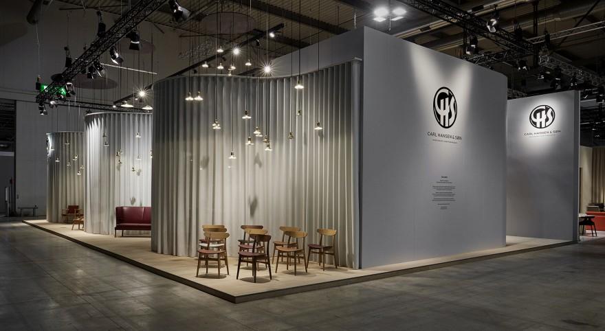Sevil Peach Architecture ontwierp de CH&S stand voor het Salone del Mobile 2019