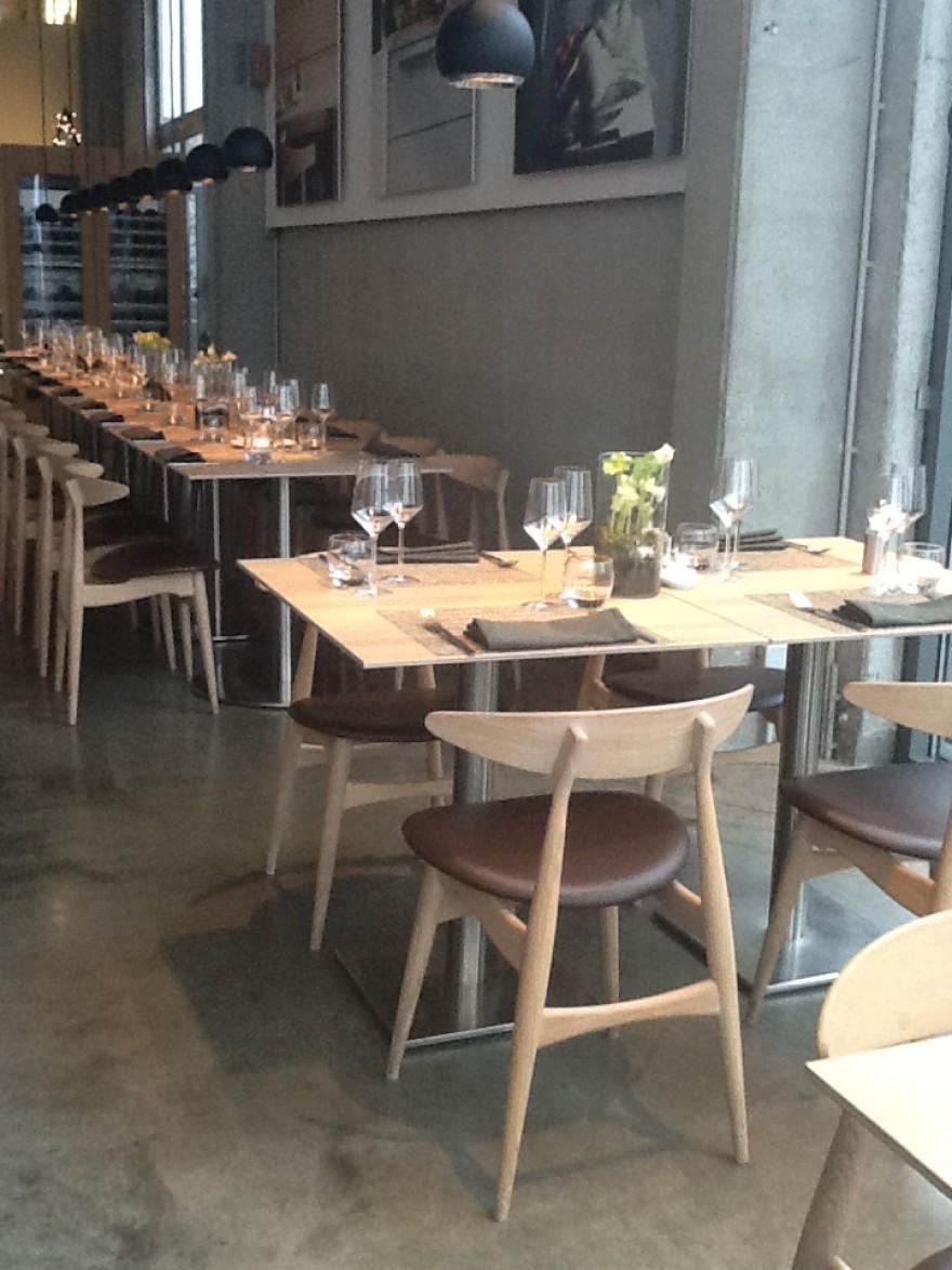 CH33 in Restaurant Bulthaup Gosselies