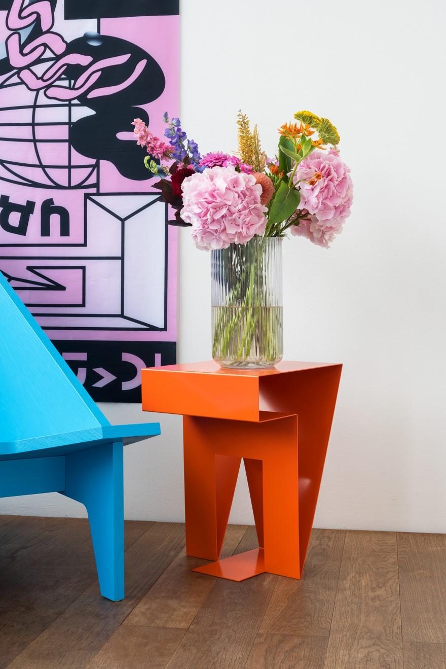 Neumann Side Table - Designer David Spinner Victors Design Agency