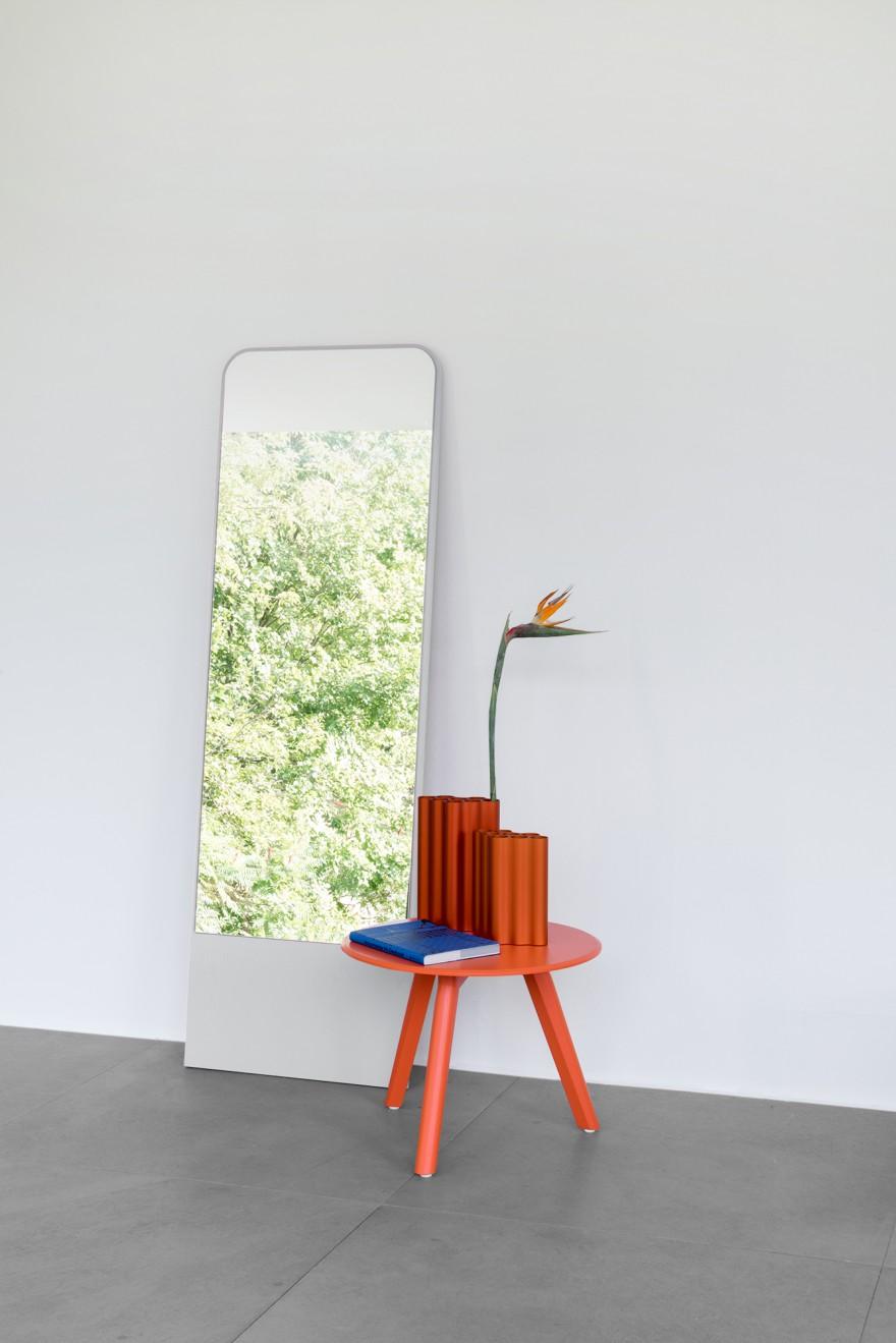 Friedrich Mirror - White by David Spinner Victors Design Agency