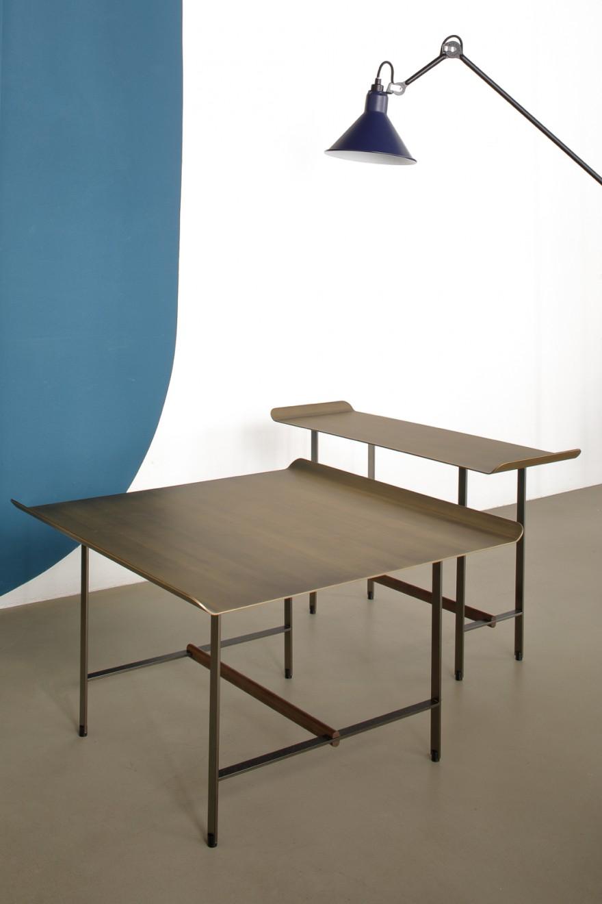 SISTERS cofee tables, design Patricia Urquiola (2019)