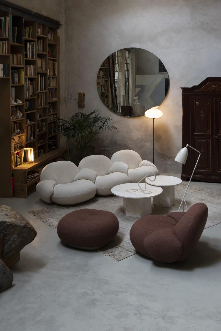 Stemlite Floor en combinaison avec Pacha (Pierre Paulin)