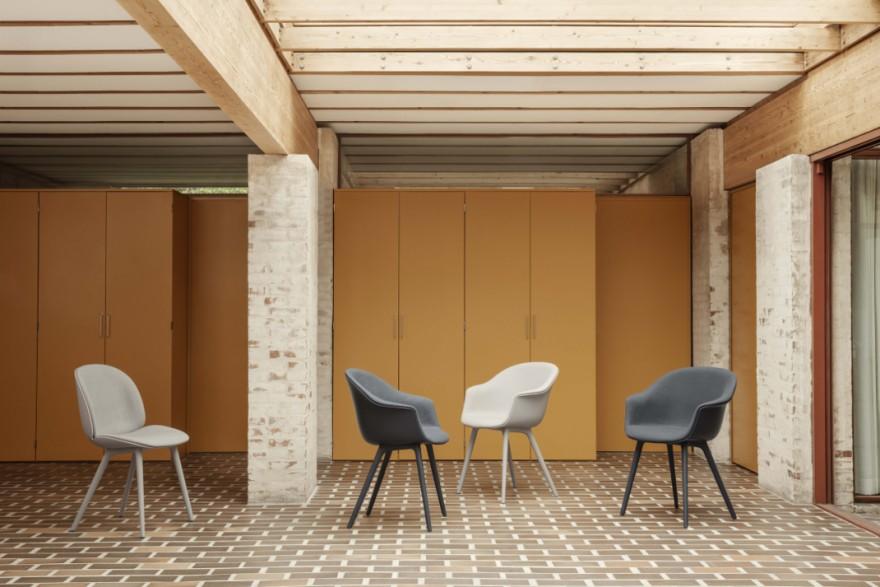 Beetle- and Bat dining chairs: enkele versies...