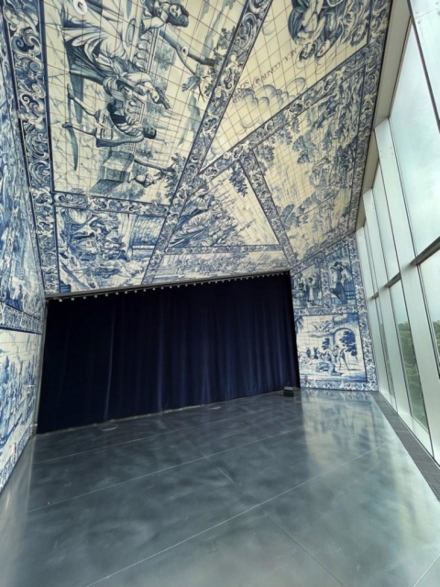 Lokale en Hollandse Delft blauwe knipoog...