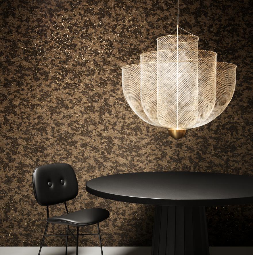 Meshmatics Chandelier, un design de Rick Tegelaar, MOOOI