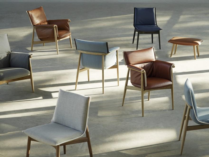 De Embrace chairs - design EOOS, stoelen overzicht