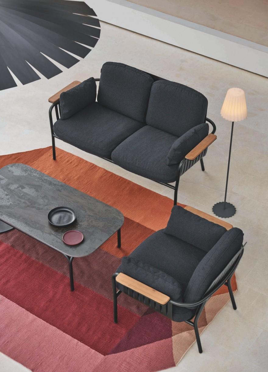 siège CAPA au look minimaliste - Søren Rose Studio