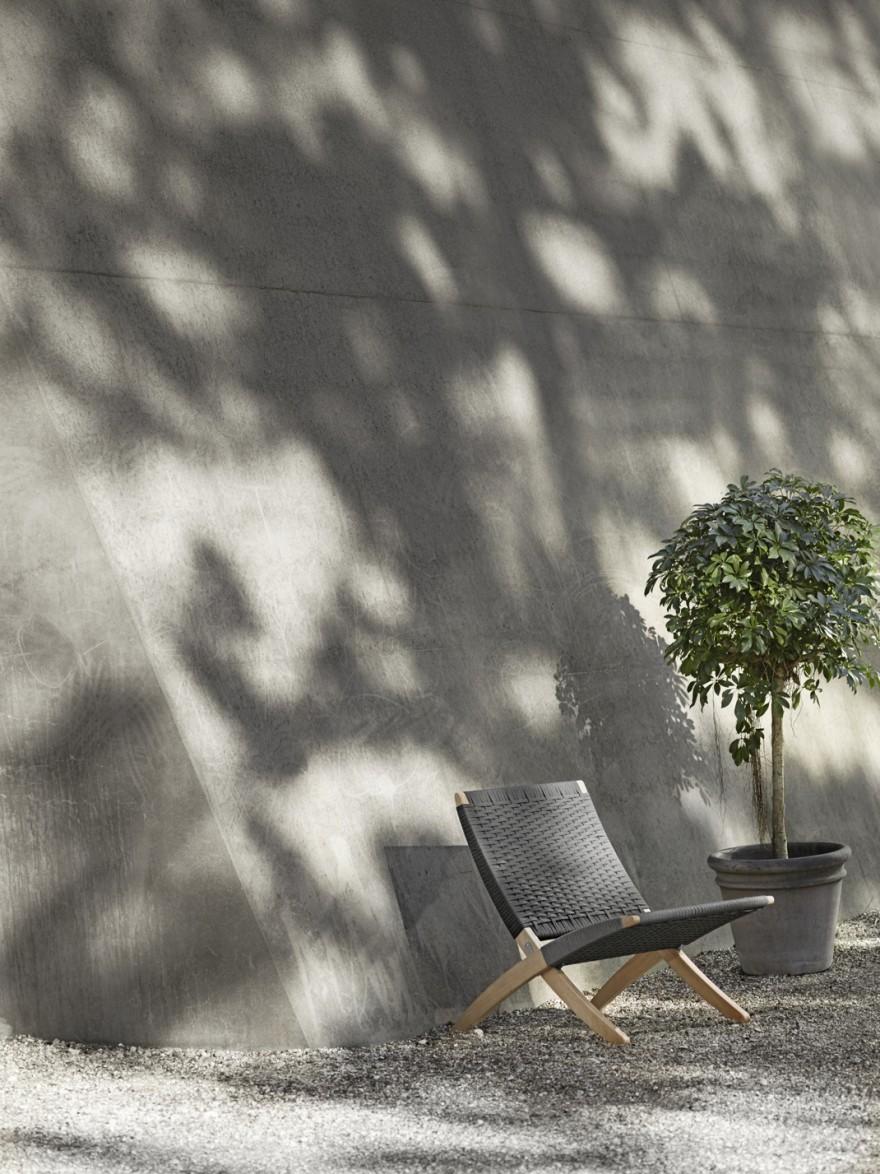 Cuba Outdoor chair in ONbehandelde teak (600 Euro verkoop + BTW)