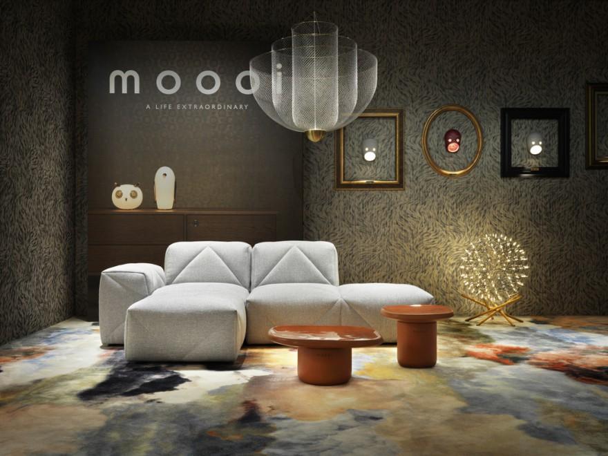 Moooi presentatie Milaan 2019