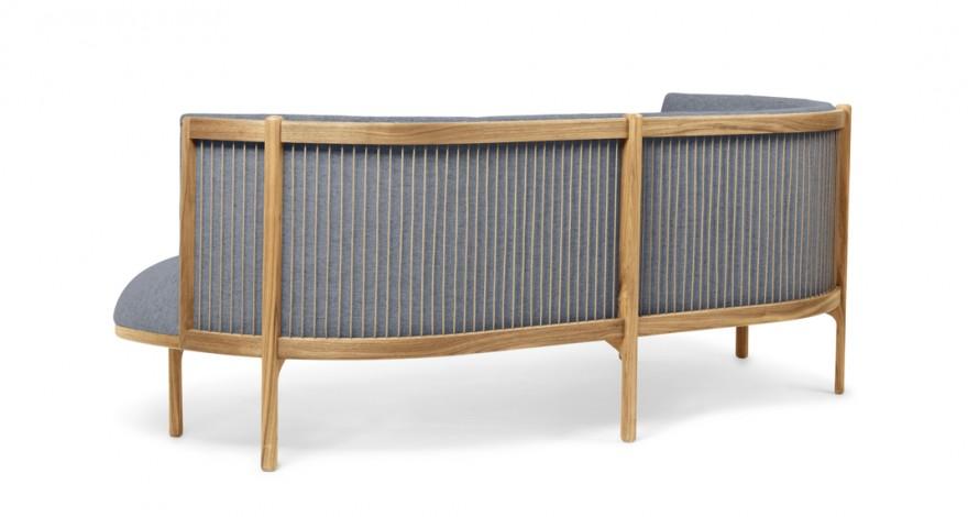 Rug van de Sideways sofa (eiken versie)