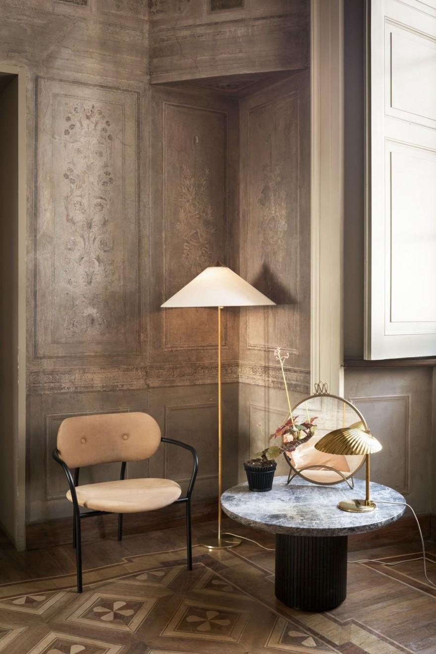 Romantisch licht van Paavo Tynell - 9602 Canvas shade