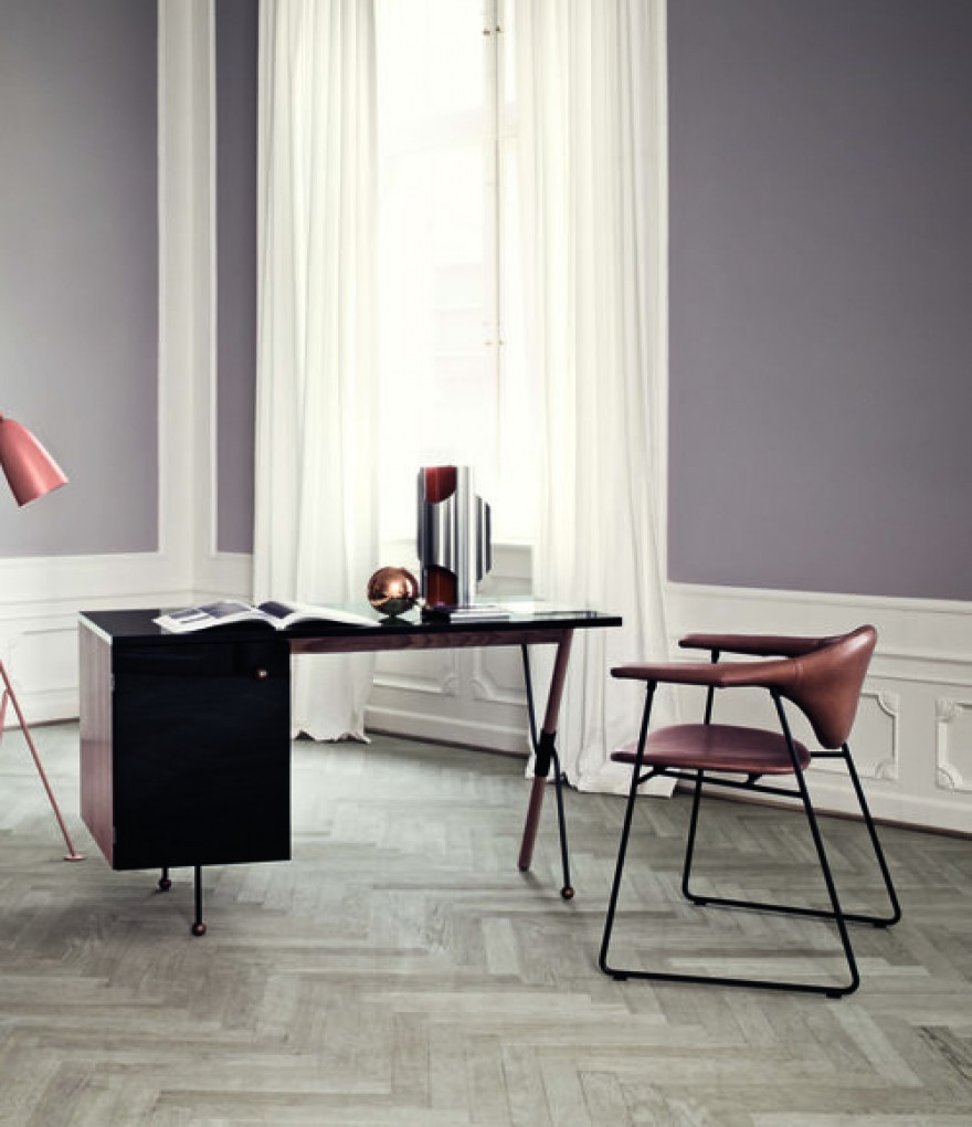 Masculo chair: dining chair & lounge chair (GamFratesi, Gubi collection)