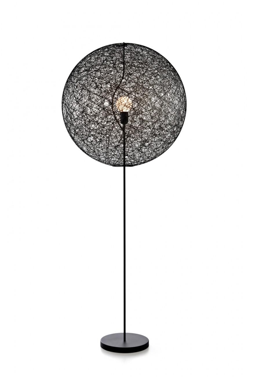 le lampadaire Random Floor lamp II noir ø80 cm