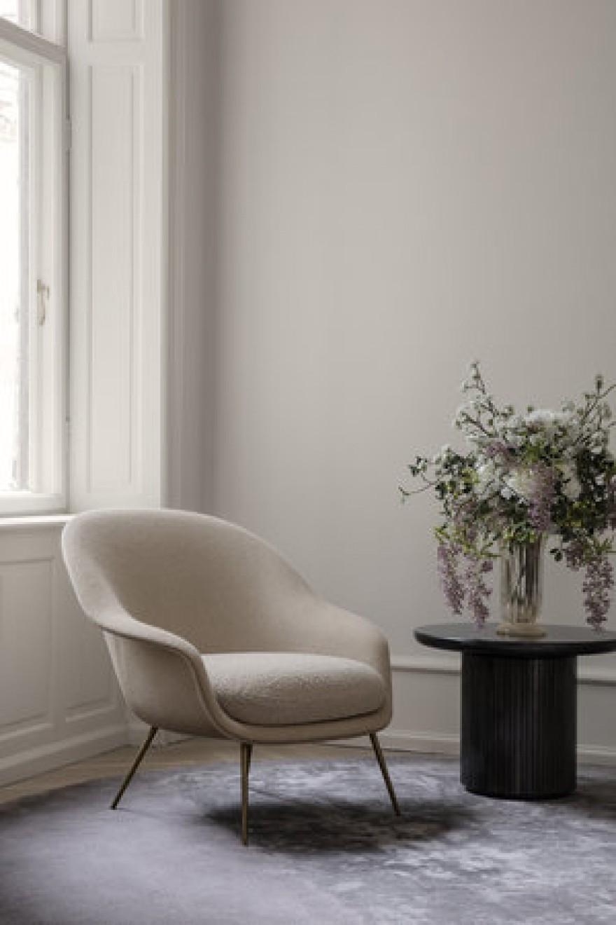 BAT lounge chair, GamFratesi design, Gubi