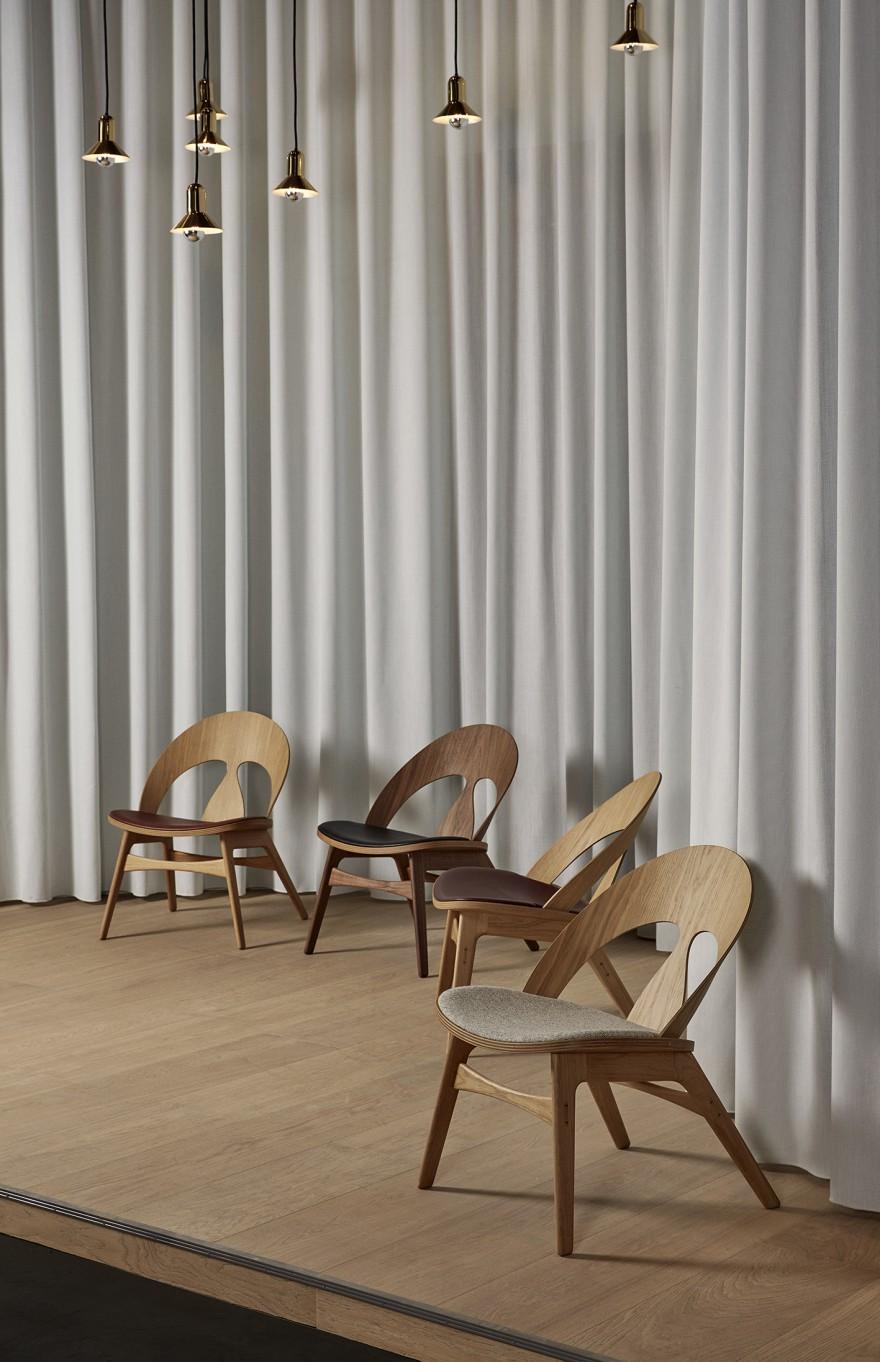 Contour Chair van Borge Mogensen: lounge stoel met persoonlijkheid