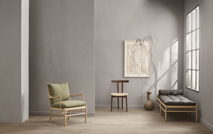 T-chair , Colonial Chair, Day Bed: allemaal designs van Ole Wanscher