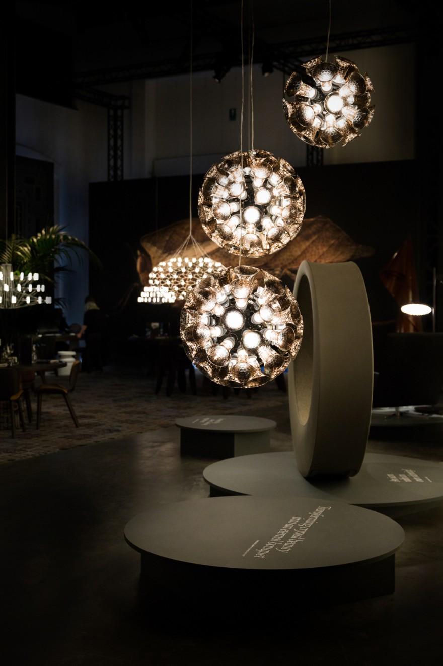 Chalice Moooi op de presentatie in Milaan 2018  Victors Design Agency