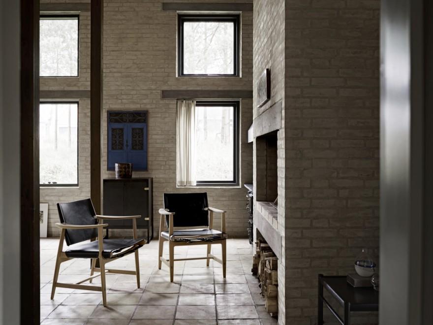 Huntman hoge lounge chair, Carl Hansen & Son