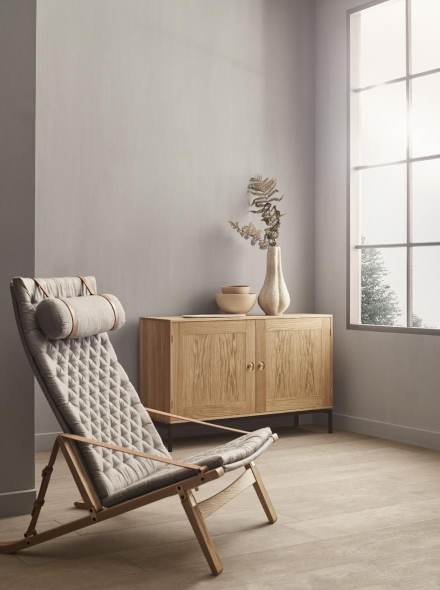 Plico Chair, Fabricius & Kastholm, 1963 design Carl Hansen & Son