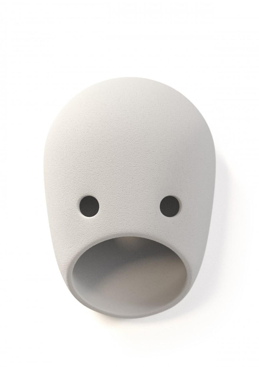 The Party Ted: gezicht zonder oren