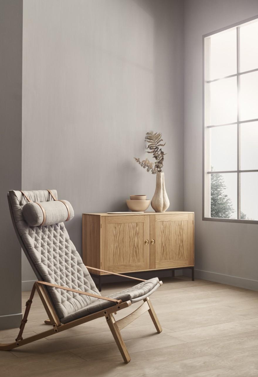 FK10 avec oreiller: coussin assise et oreiller en Toile 100% lin
