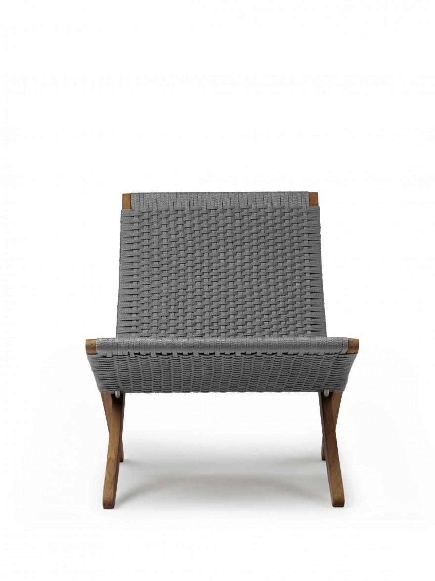 Voor aanzicht Cuba outdoor chair
