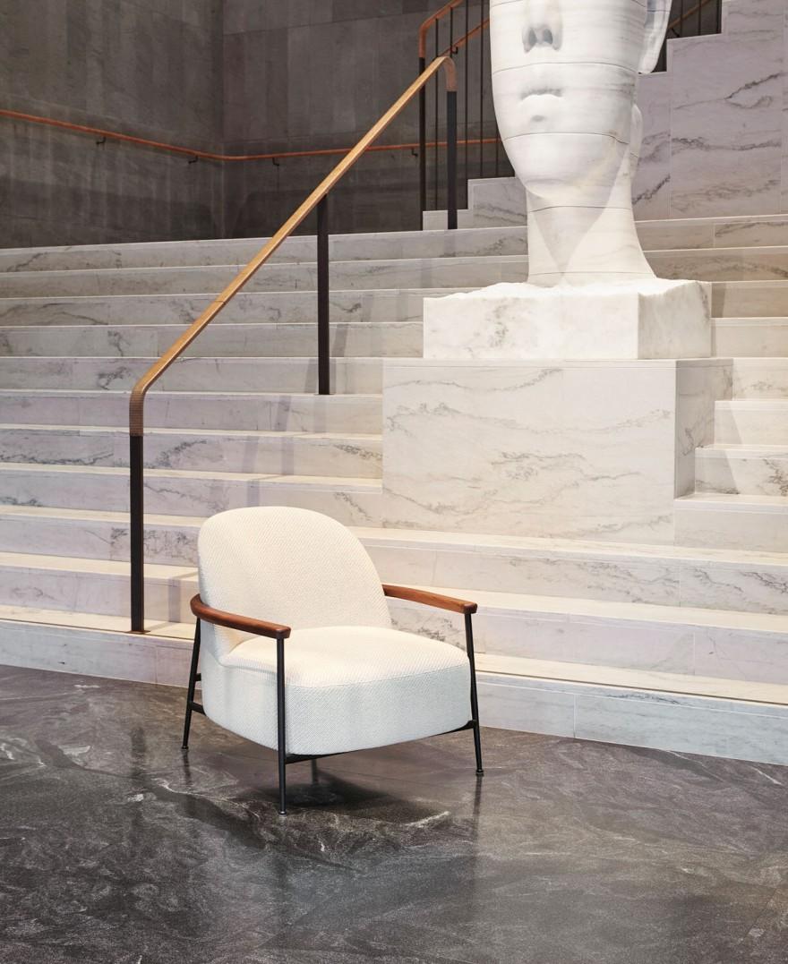 Salon compact mais spacieux Séjour, design: GamFratesi