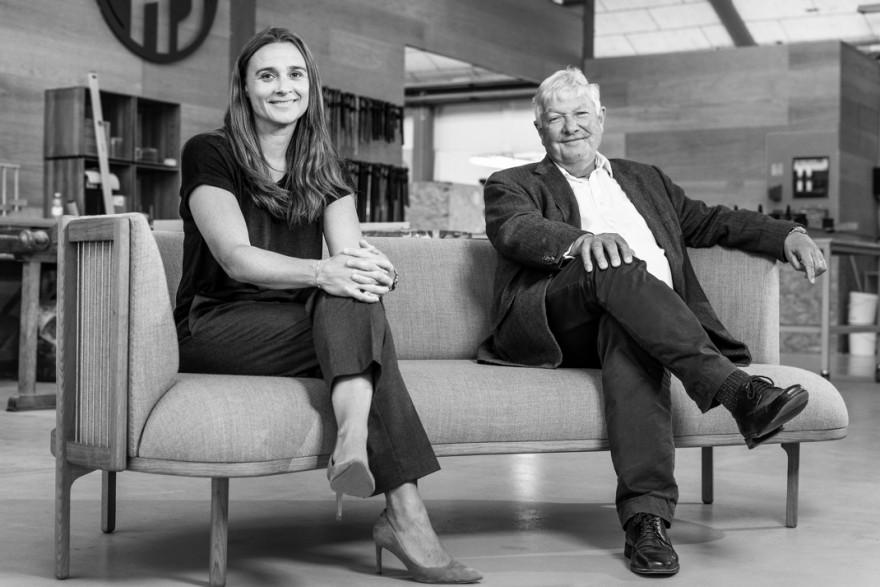 Knud Erik Hansen & Rikke Frost op de Sideways sofa