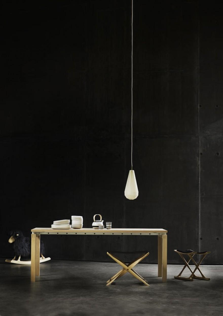 Egyptian chair: design van Ole Wanscher