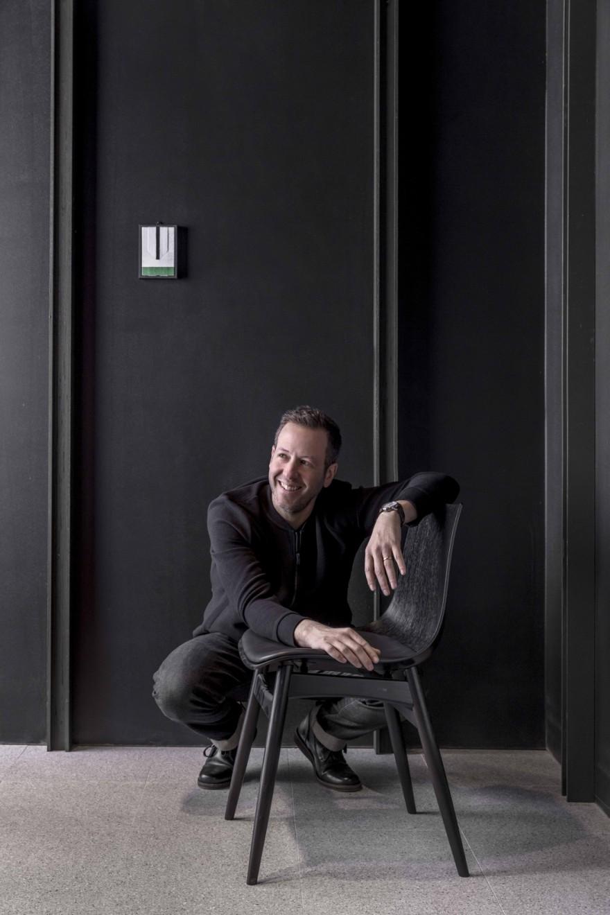 Portrait Stockholm Brad Ascalon Victors Design Agency
