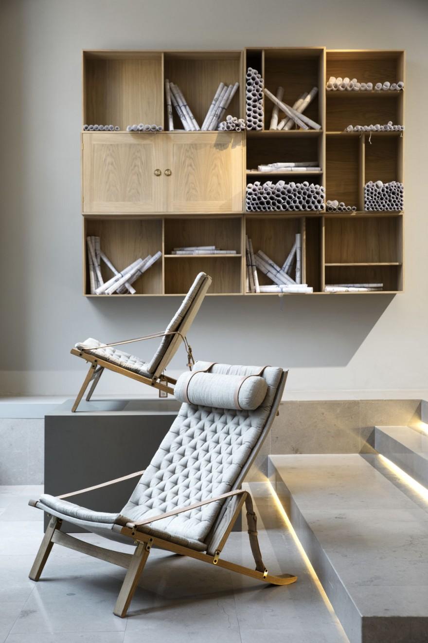 PLICO Chairs, plooibaar, Fabricius & Kastholm re-edities