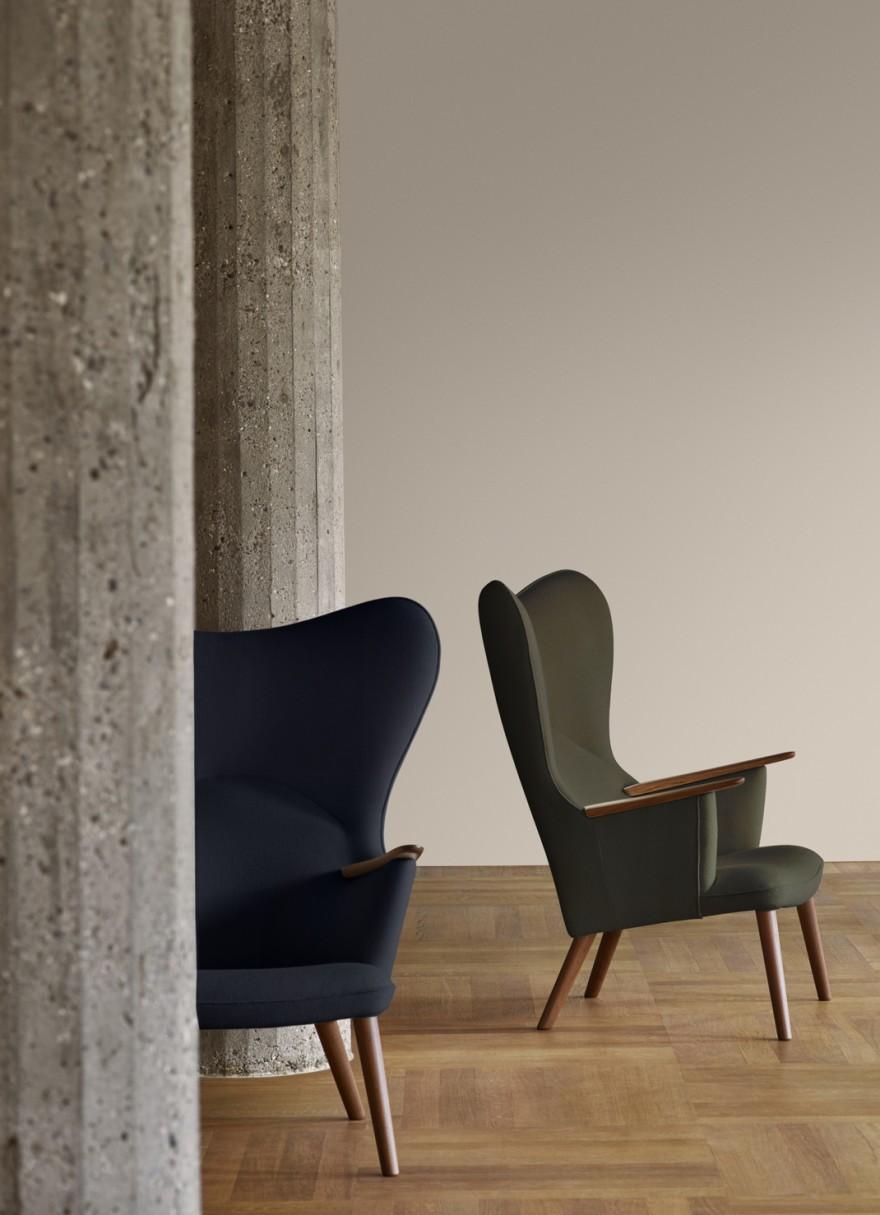 Wegner est connu pour être passionné par le confort d'assise ...