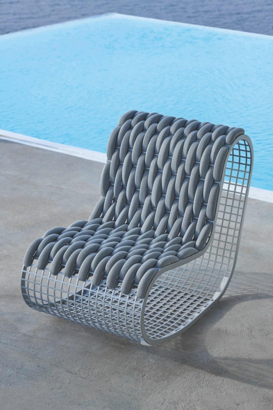 BUIT met vlechtwerk voor zacht zitcomfort