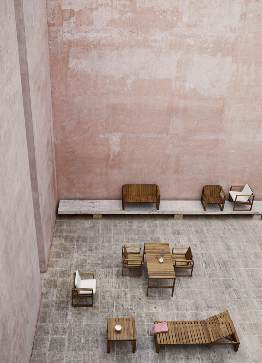 Bodil Kjaer outdoor meubelen, design 1965, Carl Hansen & Son