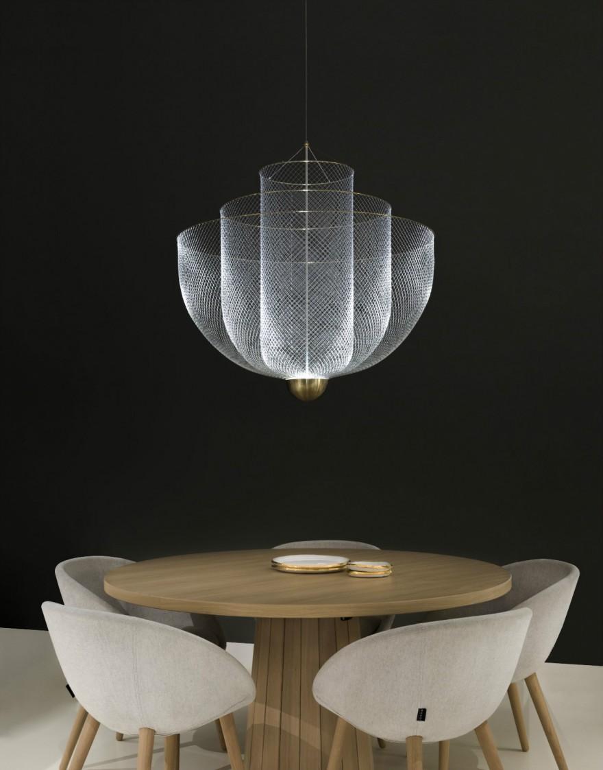 Meshmatics, design Rick Tegelaar - Moooi showroom Amsterdam