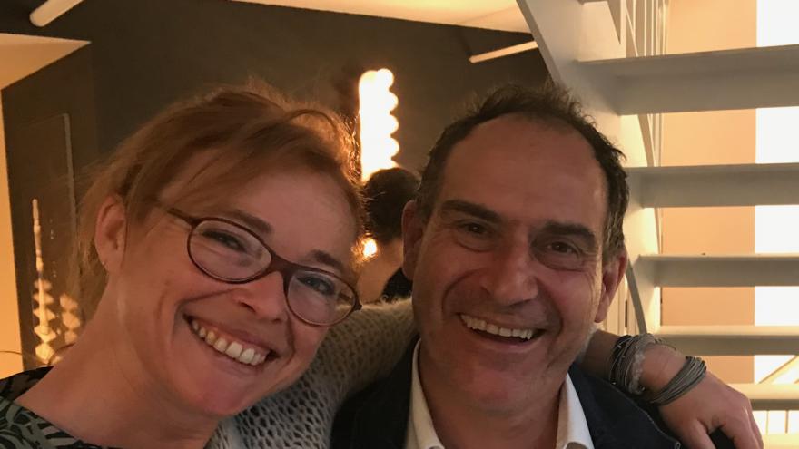 Joep Van Lieshout en Katrien Bellemans tijdens ICFF New York, 2018