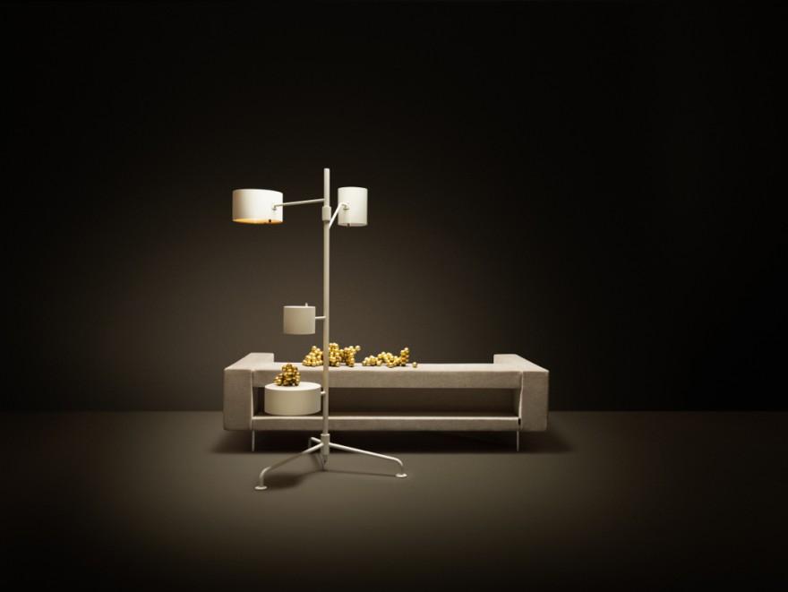 De Statistorcrat vloerlamp van Atelier Van Lieshout