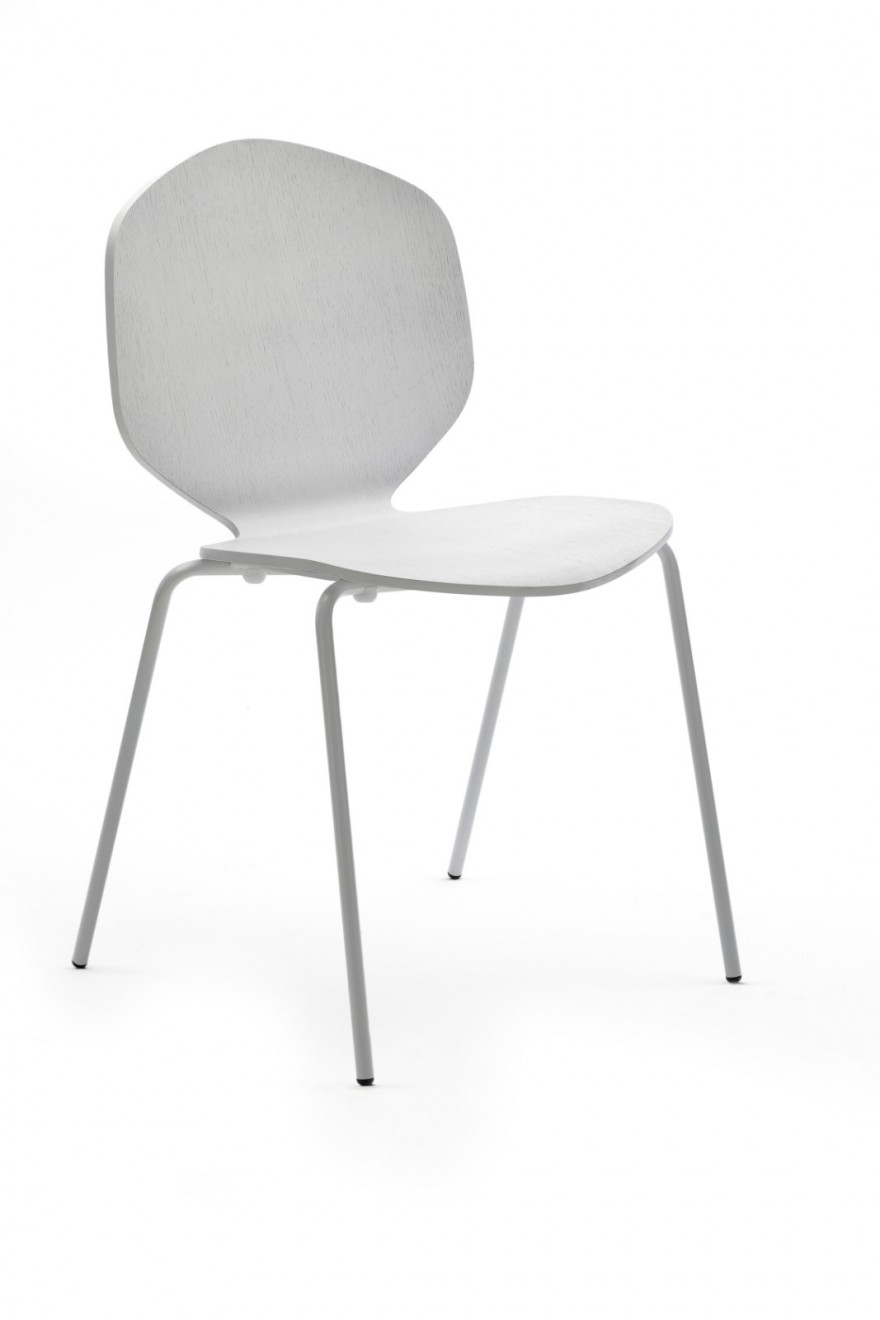 chaise Loulou blanche Victors Design Agency