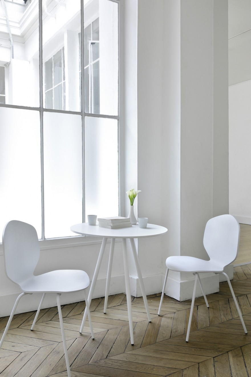 Loulou chair white Victors Design Agency