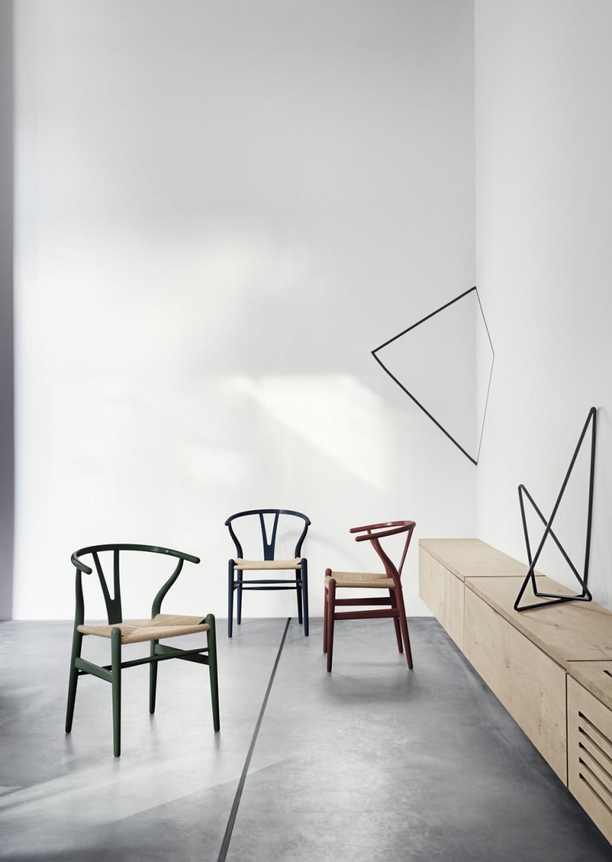 Tijdloze Wishbone in 8 nieuwe kleuren tot eind dec. verkrijghbaar  Victors Design Agency