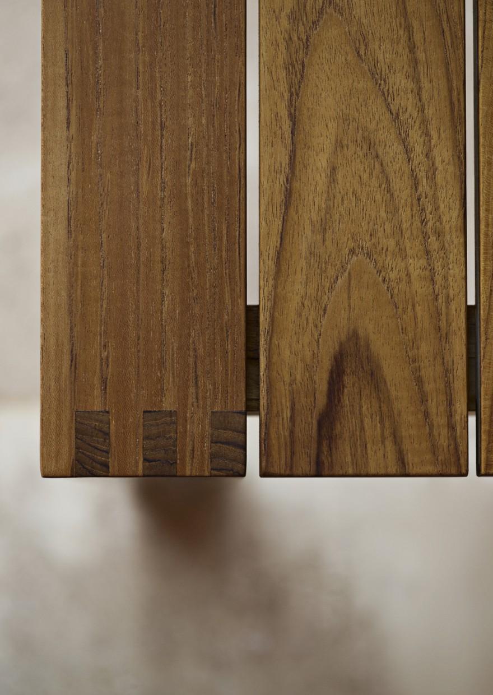 BK15 Dining Table Detail Victors Design Agency