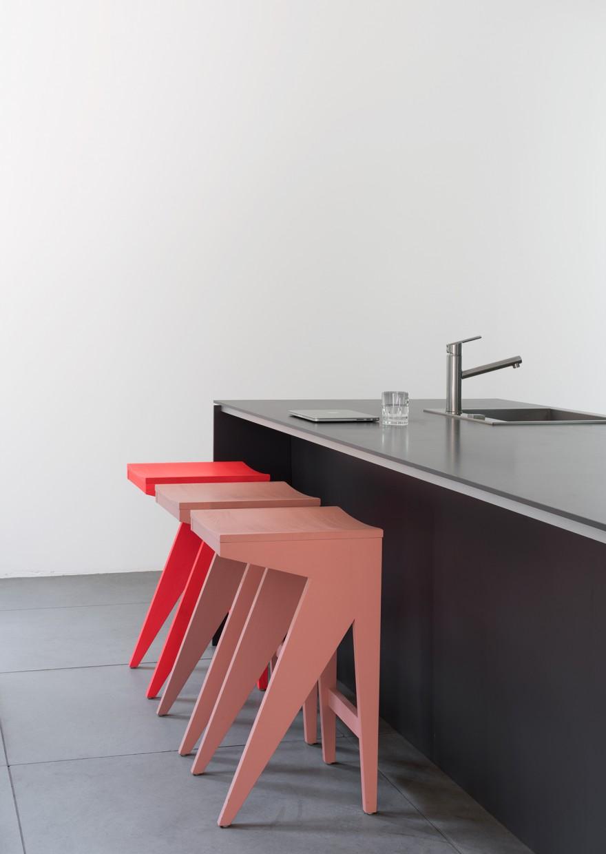 Schulz Bar Stool - Designer Anton Rawles Victors Design Agency