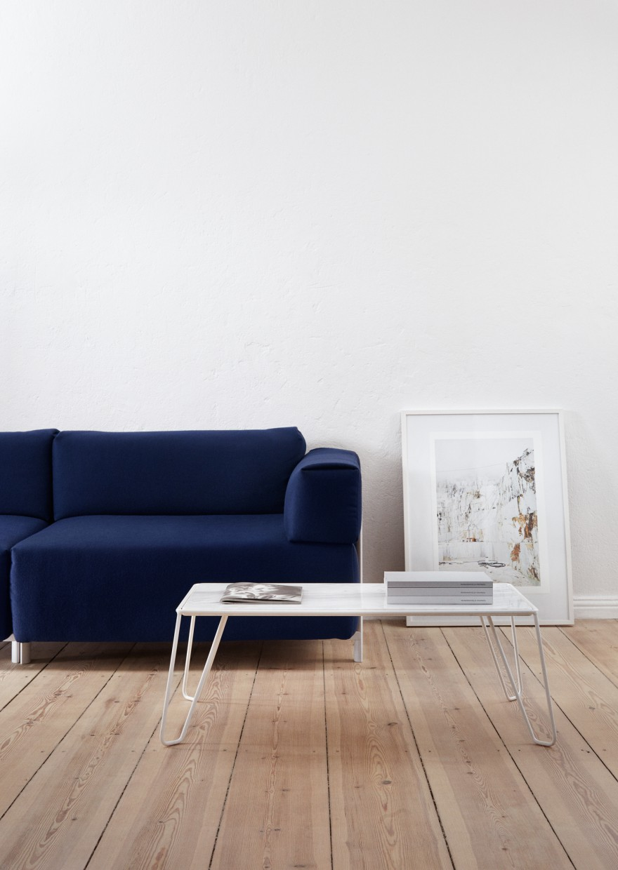 Becker Sofa  & Yilmaz Coffee Table by David Spinner Victors Design Agency