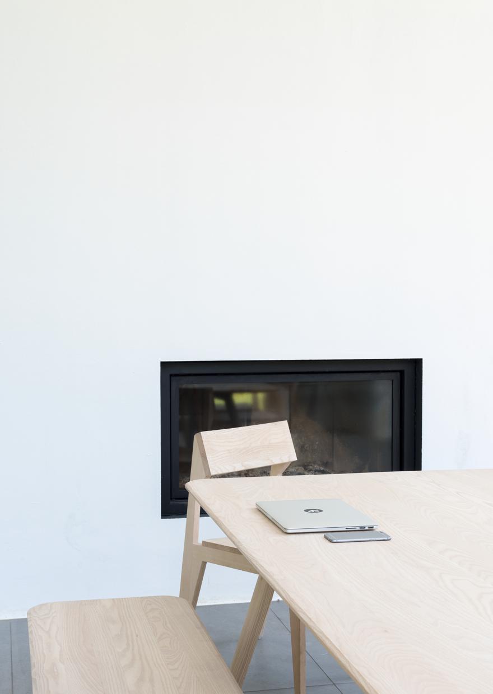 Meyer Bench & Table Ash oil Victors Design Agency