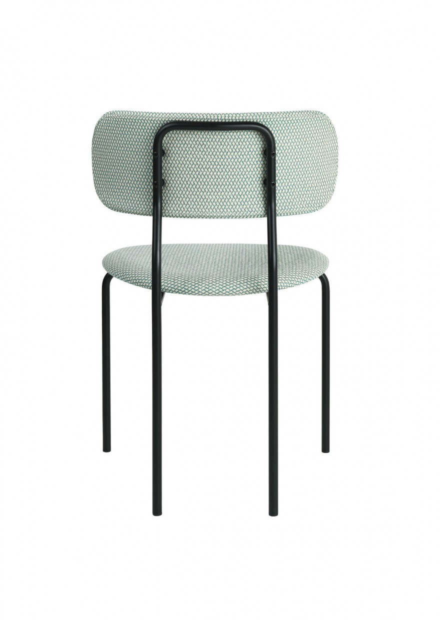 Achterkant Coco chair, OEO design, Gubi collectie   Victors Design Agency