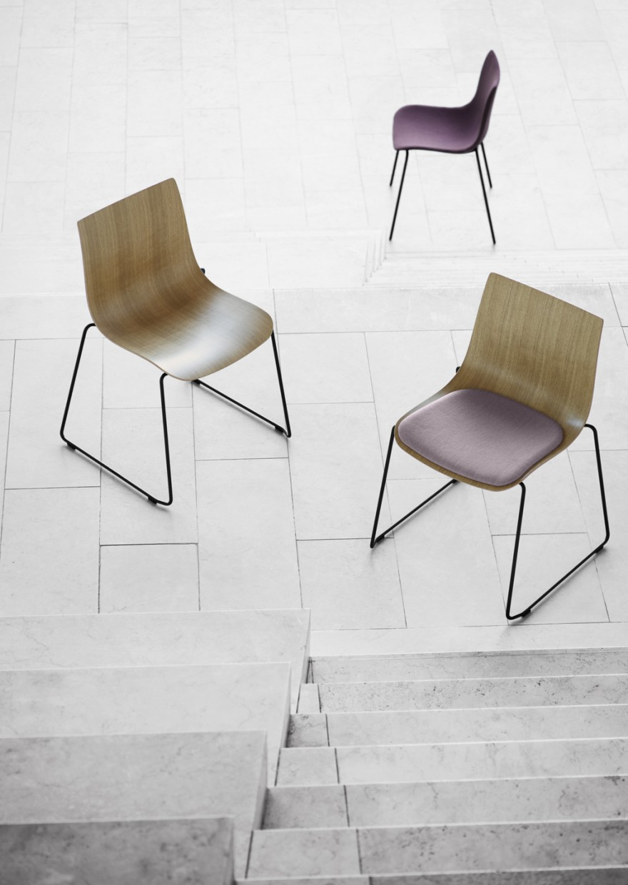 Preludia series - dining chair  Victors Design Agency